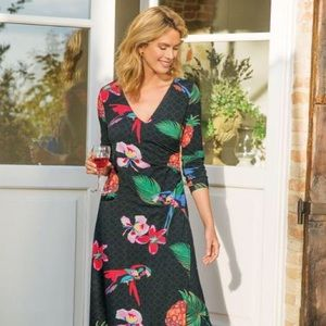 Soft Surroundings Wear Anywhere Tropical Dress
